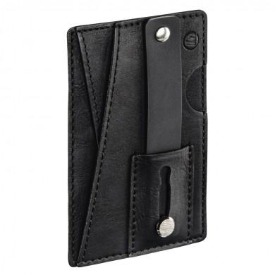 Калъф за смартфон HAMA Card Case Business9, с отделения за лични документи, черен, 16 броя в кутия