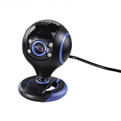 Уеб камера HAMA uRage Webcam HD Essential, HD, микрофон, Черна