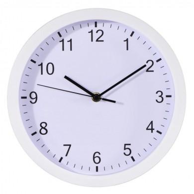 Стенен часовник Hama Plus, Ø 25 cm, за стена, Бял