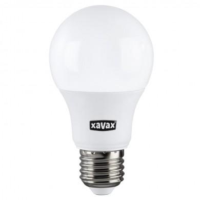 LED крушка XAVAX 112620, 9W, E27, A 60. 2700K, bulb