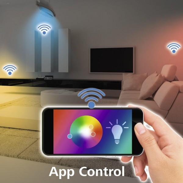 Лампа  за таван(аплик) HAMA Ceiling Light, WiFi, диаметър 30 см