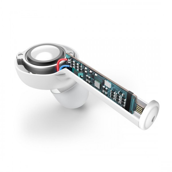 Блутут слушалки-тапи с докинг кутийка Hama Style, True Wireless, Гласов контрол, Бели