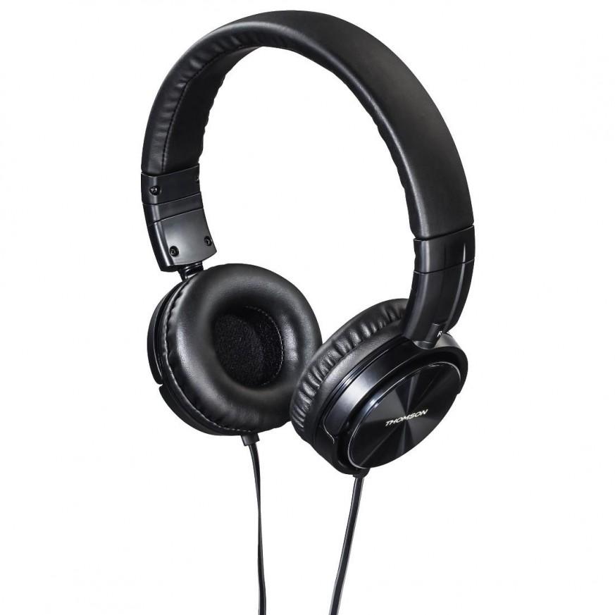 Слушалки Thomson HED2215BK, Черен