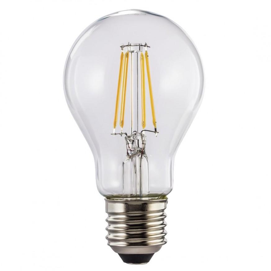 Димираща WiFi крушка HAMA 176555, LED нишки, 7W, E27, 800 lm