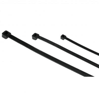 Кабелни връзки, 150 бр., 3 размера,черен