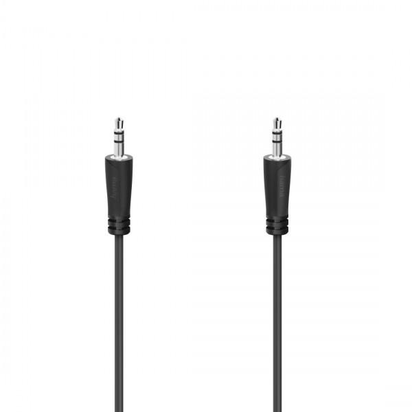 Аудио кабел HAMA 205262, 2 x  3.5мм стерео жак мъжко,1.5м.
