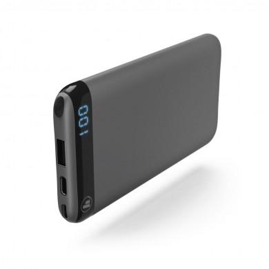Външна батерия HAMA LED6S, 6000 mAh, Черен, Li-polymer