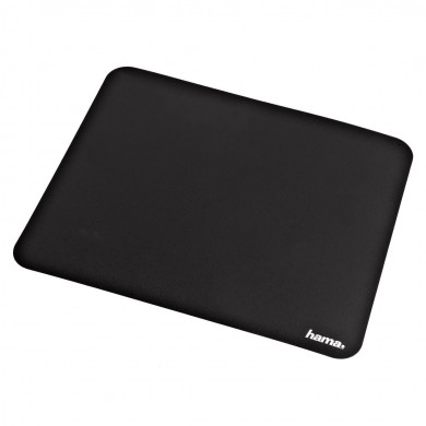 Пад за мишка HAMA - 54750 Basic, самозалепващ, черен