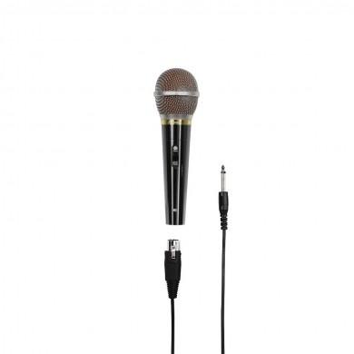 Аудио динамичен микрофон HAMA DM 60, метален