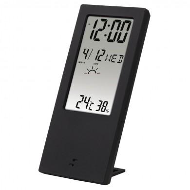 Цифров термометър/хигрометър HAMA TH-140 176913, Черен