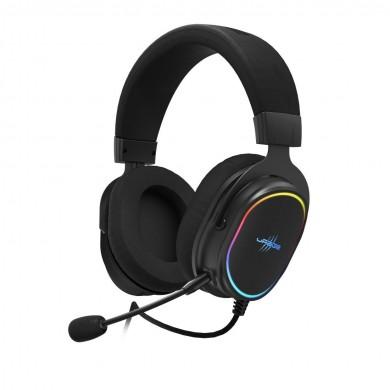Геймърски слушалки Hama uRage SoundZ 800 7.1, Микрофон, USB, RGB, Черен