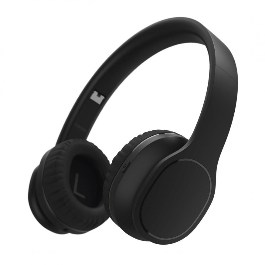 Стерео слушалки HAMA Touch, Bluetooth, Микрофон, On-Ear, Stereo, Черен