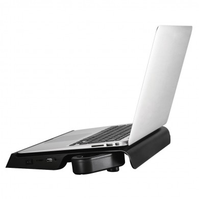 "Охладител за лаптоп HAMA Aluminium, вградени говорители, 13,3"" - 15,6"", Черен"