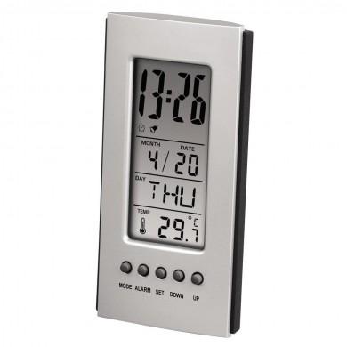 Електронна метеостанция HAMA 75298, LCD, Сив