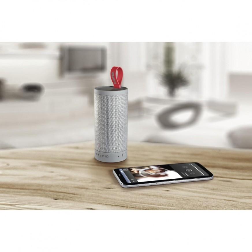 Блутут мобилна колонка HAMA Tube, Bluetooth, Сив