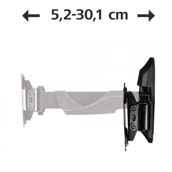 Стенна стойка за TV HAMA 118661, Регулируема, 10