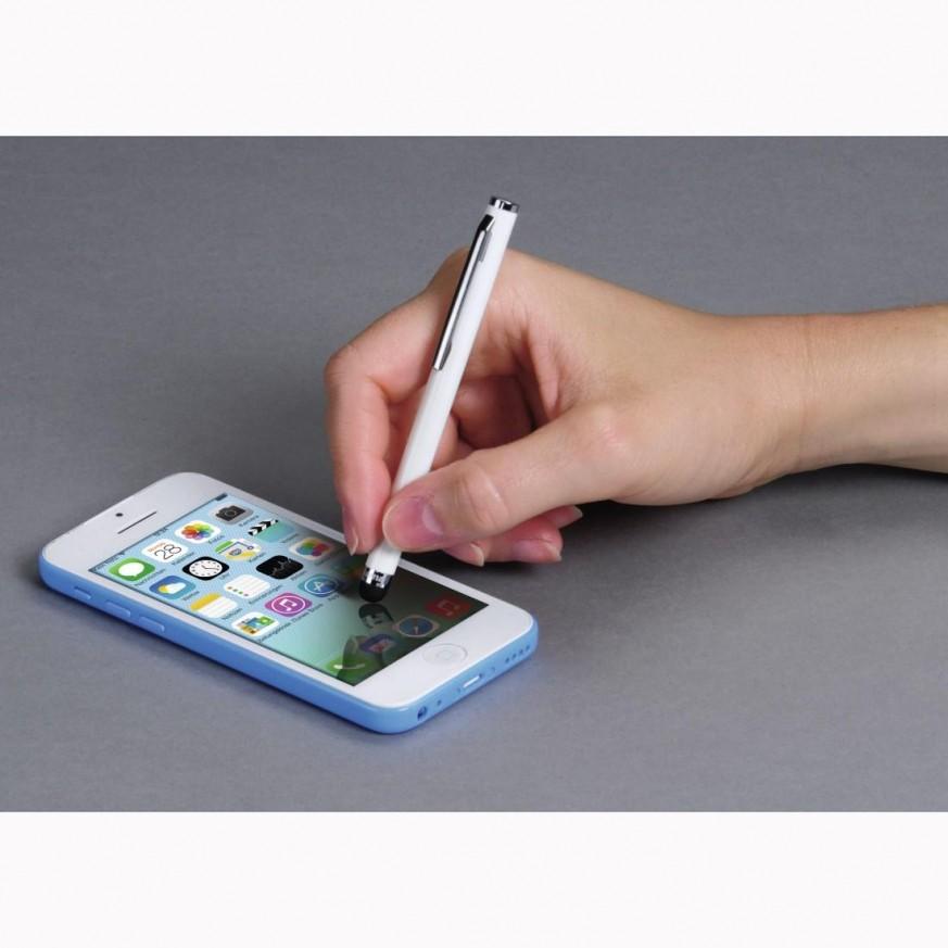 Писалка стилус за таблет или телефон HAMA Easy, бял