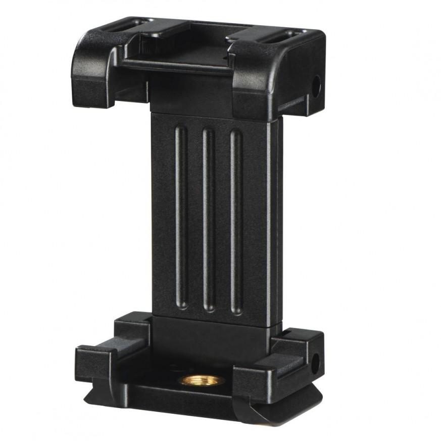 LED лампа Hama 49 BD, за допълнително осветяване на записи с камера и смартфон, Черна