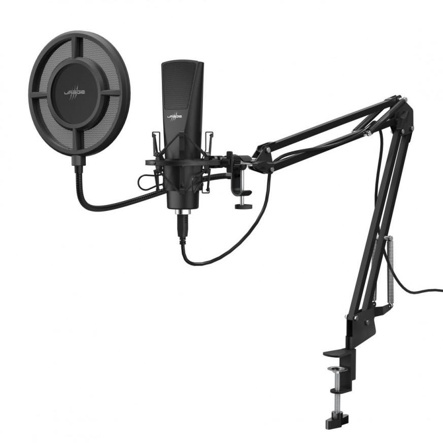 Настолен микрофон uRage Stream 800 HD Studio, Черен