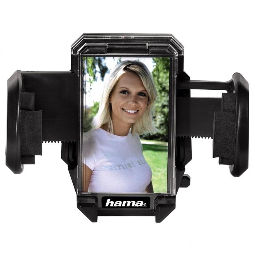 Стойка за кола и стъкло за телефони HAMA Multi-Holder, 4-11см