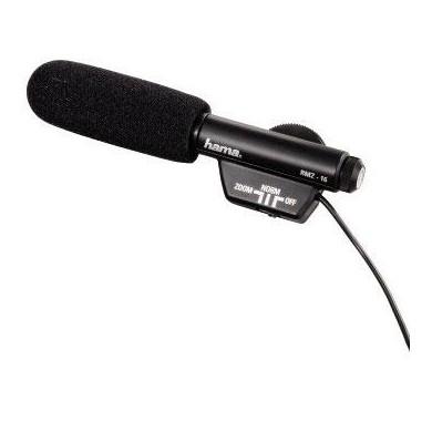 Микрофон кардиоден HAMA RMZ-16, 3.5mm, Черен,моно