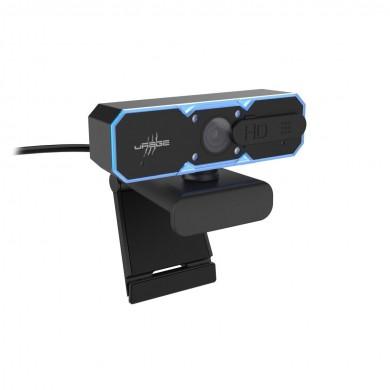 Уеб камера HAMA uRage REC 600 HD, HD, стриминг, микрофон, Черна
