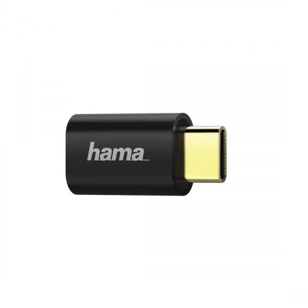 Външна батерия HAMA Power Pack X10, 10400 mAh, USB/USB-C, Черен