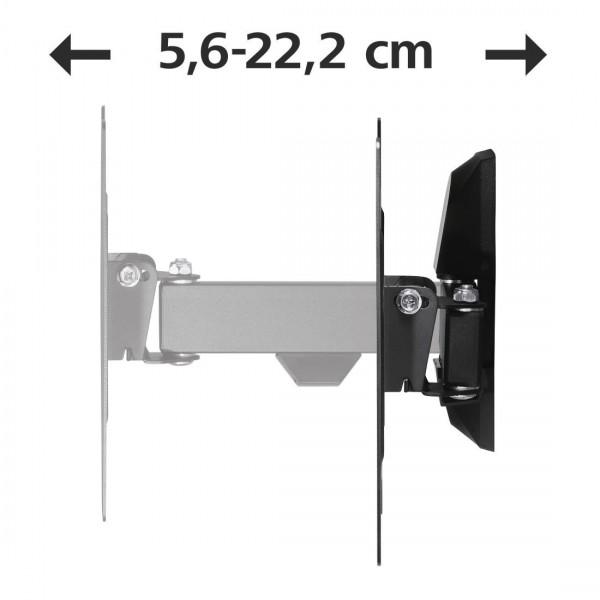 Стенна стойка за TV HAMA 118100, Регулируема, 48