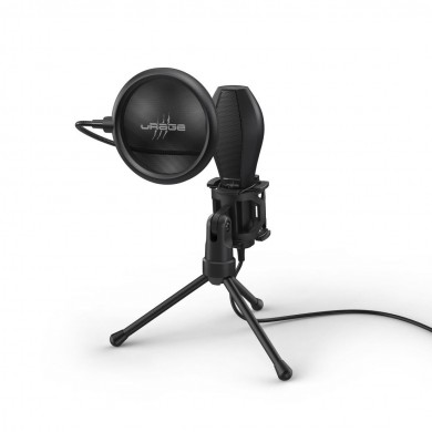 Геймърски микрофон HAMA uRage Stream 400 Plus, 2 м кабел, черен