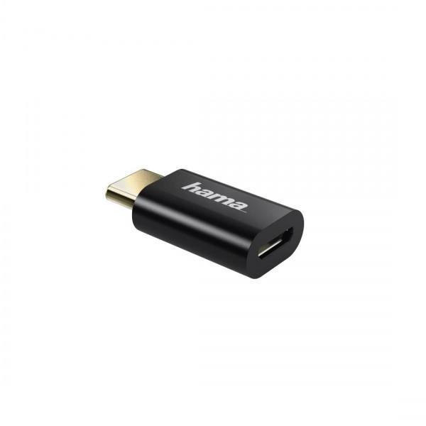 Външна батерия HAMA Supreme 10HD, 10000 mAh, LiPolym, USB-A/USB-C, Сив