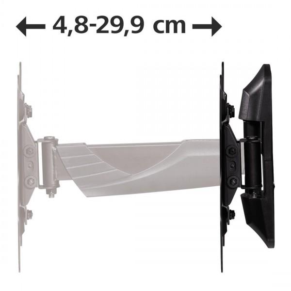 Стенна стойка за TV HAMA 118664, Регулируема, 19