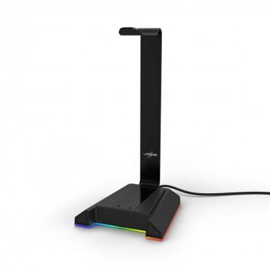 Поставка за слушалки HAMA uRage AFK 300 Illuminated, Светеща, Черен