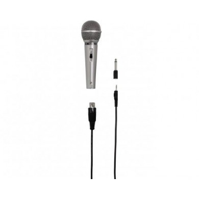 Динамичен аудио микрофон HAMA DM-40, сив