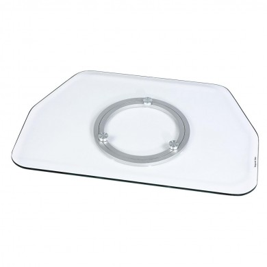 "Въртяща се поставка за TV HAMA Rotary, до 107 cm (42""), 60 кг, Прозрачна"