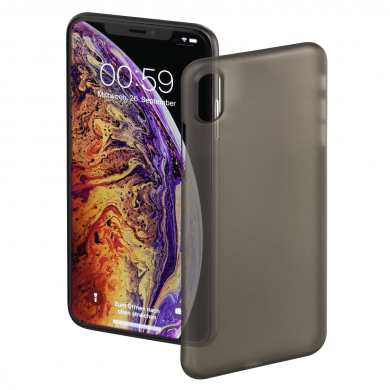 Гръб HAMA Ultra Slim за Apple iPhone Xs Max, черен