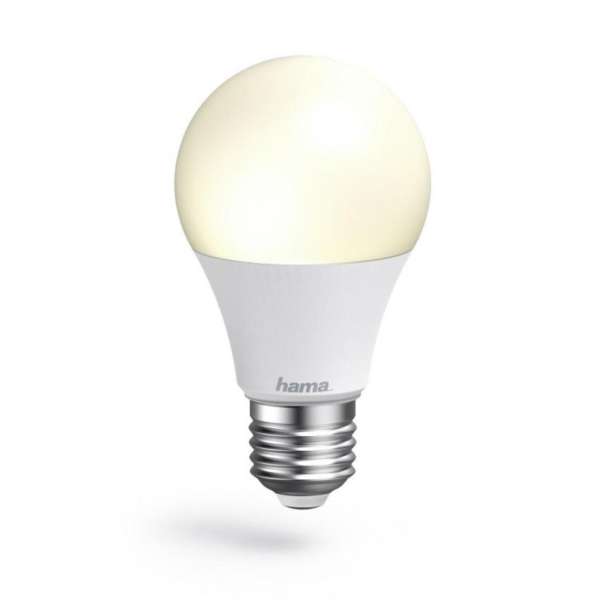 Димираща крушка HAMA WiFi-LED, 10W, E27, 806 lm