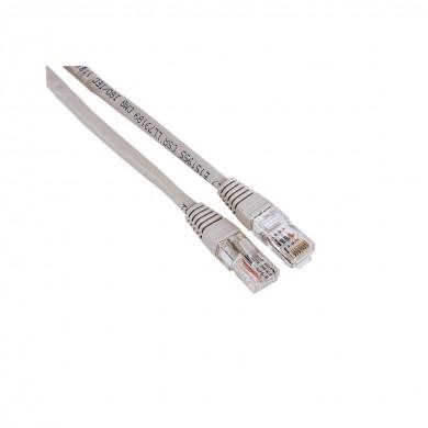 Мрежов кабел HAMA, 30595, CAT 5e, UTP, RJ-45 - RJ-45, 3 m, Standard, Сив, булк опаковка