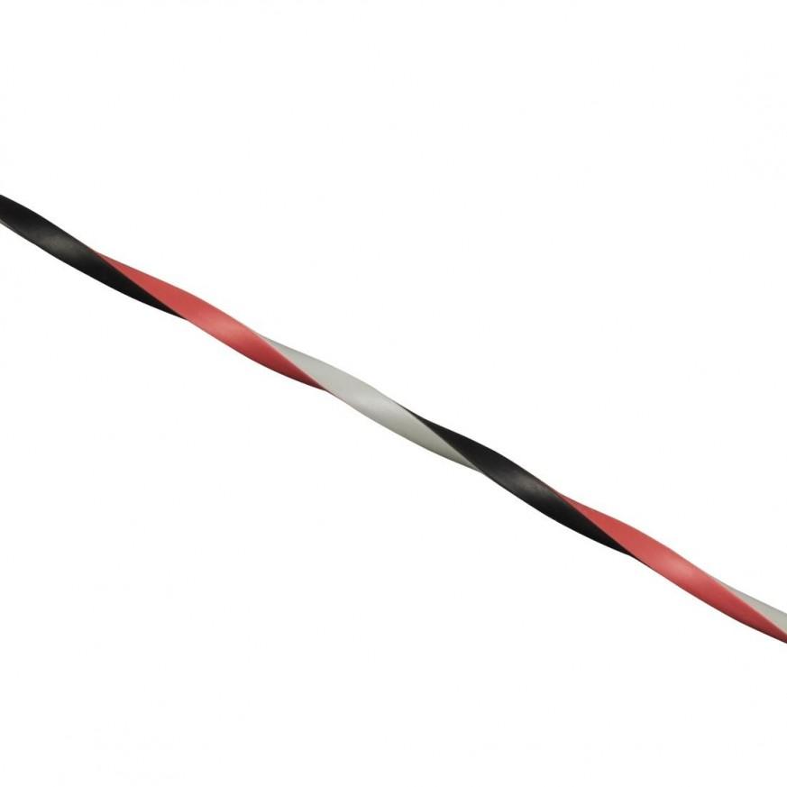 Аудио кабел HAMA 122332, 3.5mm жак мъжко - 3.5mm жак мъжко, под ъгъл 90°, Стерео, Трицветен, 3 звезди, 0.75м