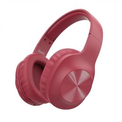 Блутут слушалки HAMA Calypso, стерео, микрофон, Червен