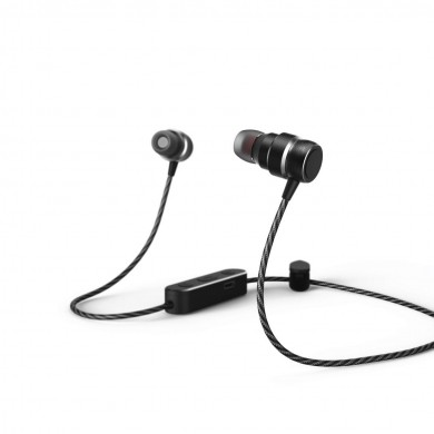 Слушалки HAMA Pure Passion, Bluetooth, Микрофон, In-Ear, черен