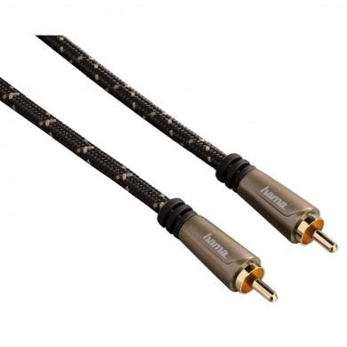 Аудио цифров кабел HAMA 122269, Чинч мъжко - Чинч мъжко, позлатен, 1.5м