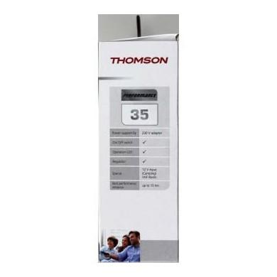 Вътрешна антена Thomson ANT1418BK, Performance 35, DVB-T/DVB-T2, Черен